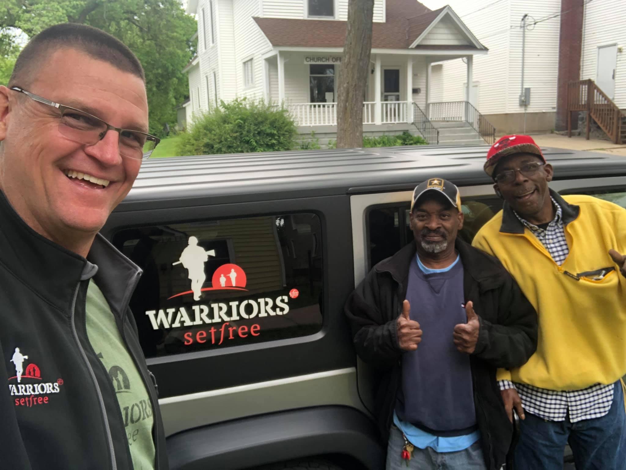 Ministry helping veterans, first responders find PTSD healing