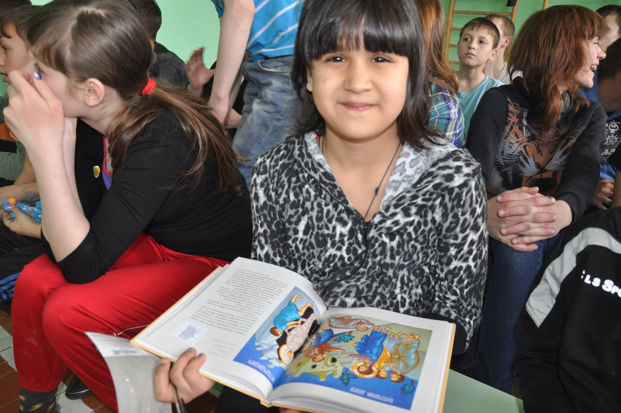 Easter ministry helps Russian orphans