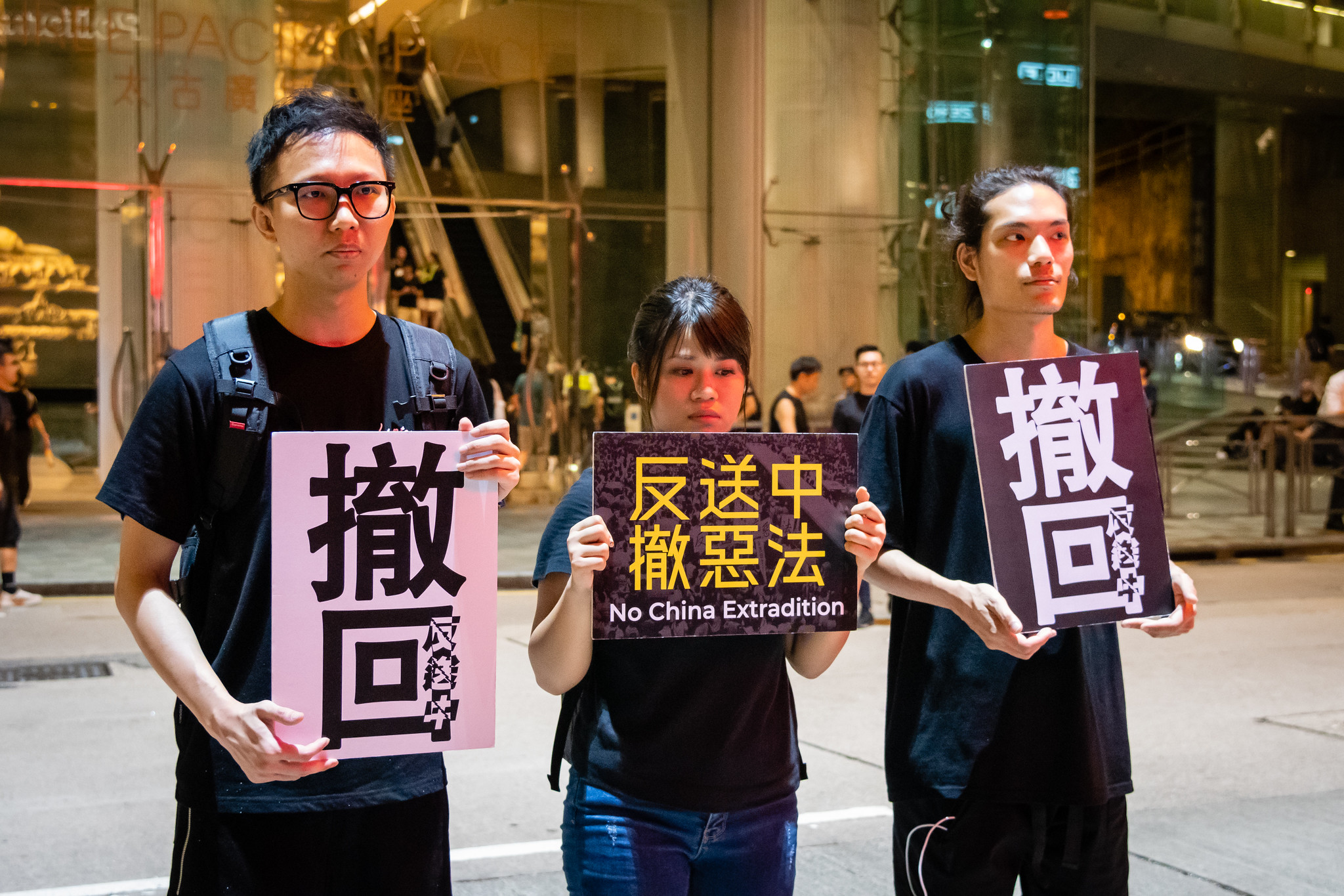 "Hong Kong marks ""Day of Grief"" as China celebrates anniversary"