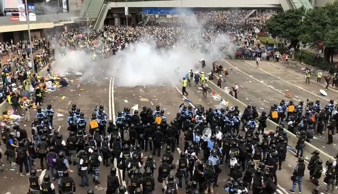 Hong Kong protests provide opportunity for peace, reconciliation
