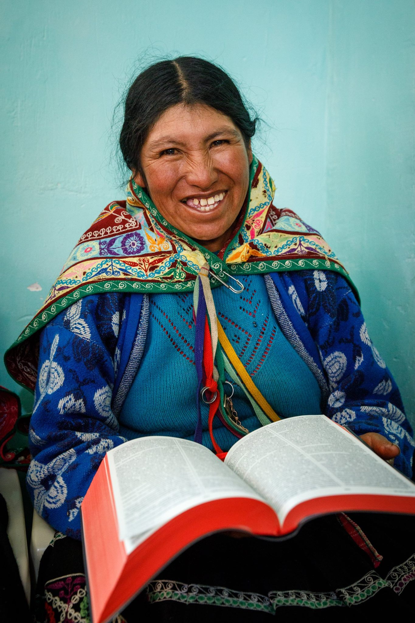 Give the gift of hope for Christmas by supporting Bible translation