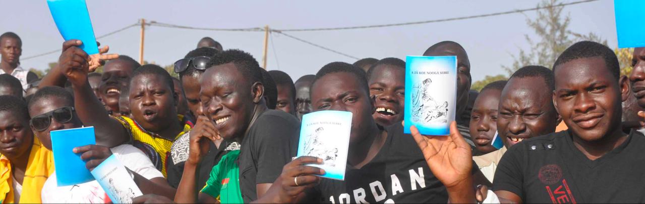Providing Bibles for South Africa evangelism festival