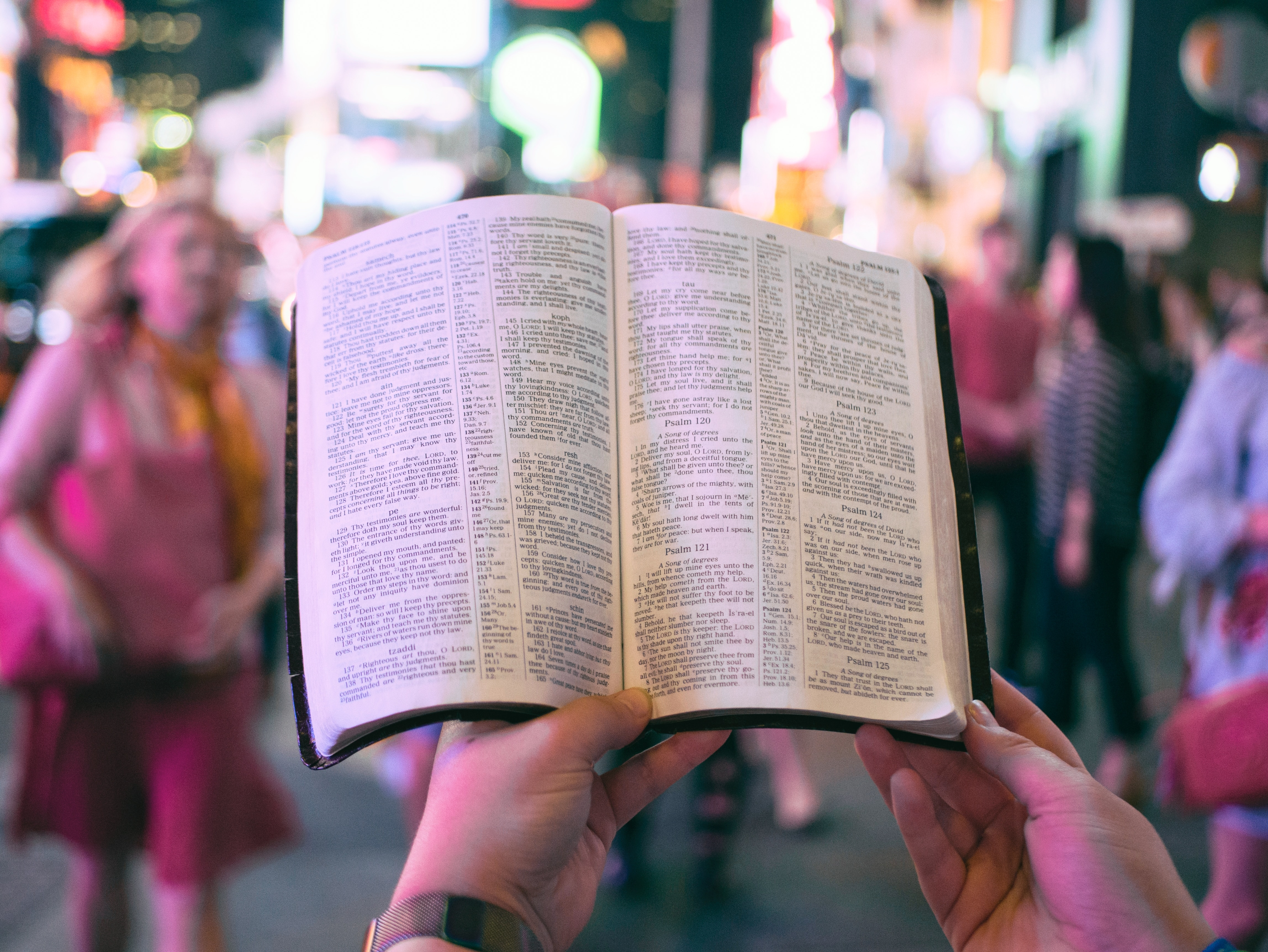 Scriptural literacy in the Bible and now
