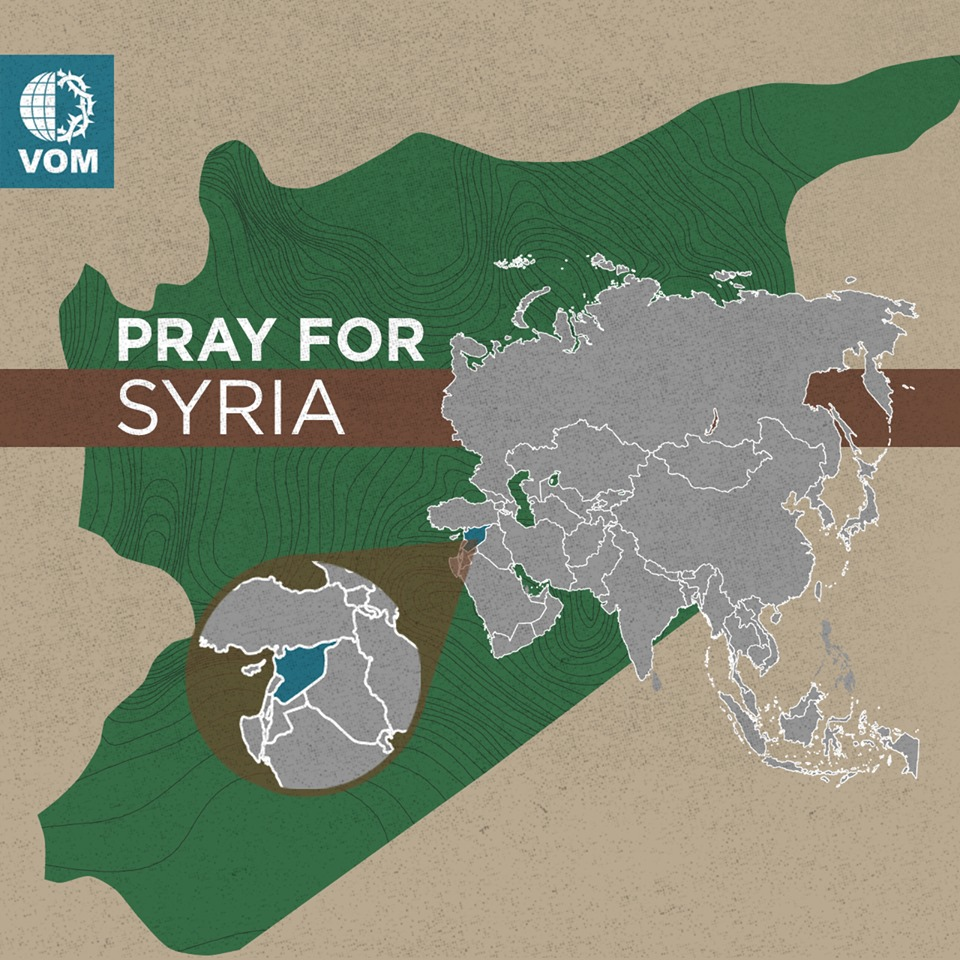 Use International Day of Prayer to pray for Syria