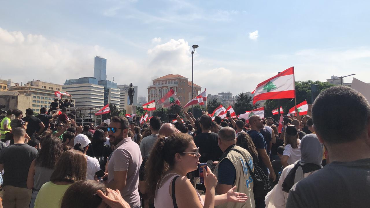 Triumphant Mercy Lebanon Continues in Prayer as Routine Protests Signify Brink of Disaster for Lebanon
