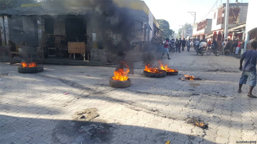 No Compassion kids hurt by Haiti protests - Mission Network News