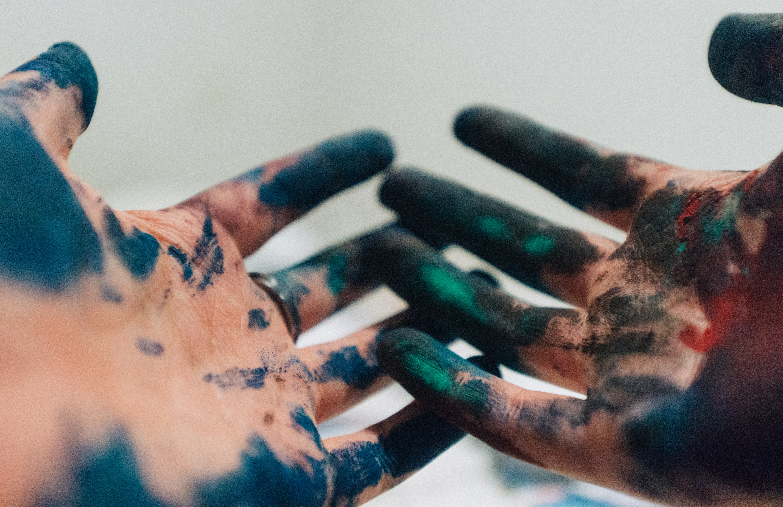 art, hands