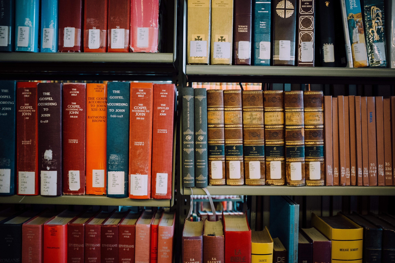 bibles bookshelf