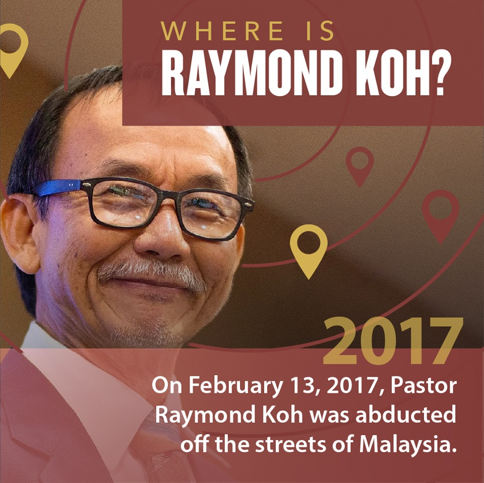 Sign petition demanding answers on Pastor Koh's abduction
