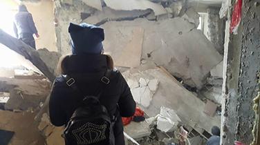 Combatting desolation in Ukraine
