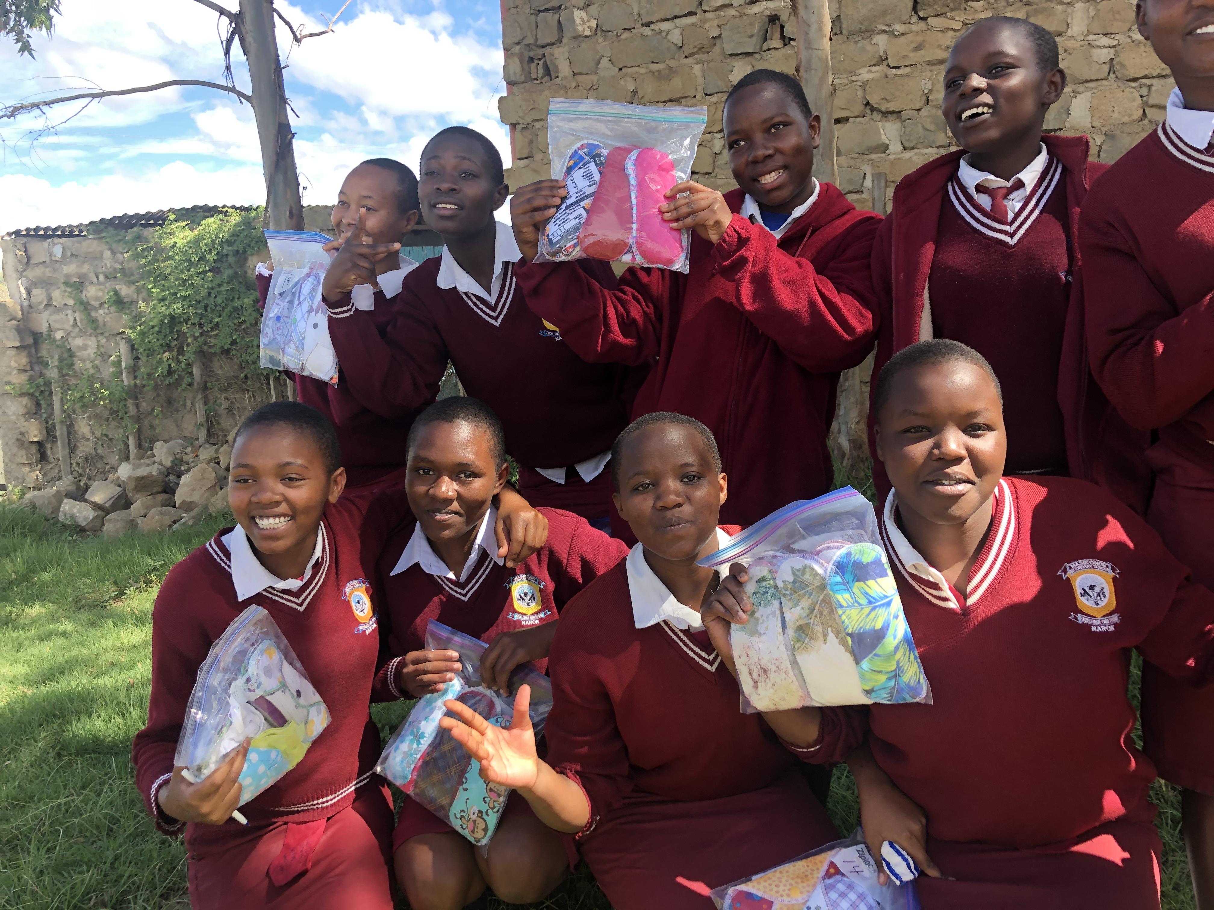 Menstrual shame hurts Kenyan girls; sanitary products offer hope