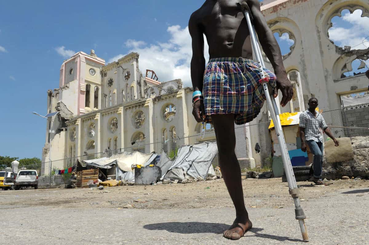 Haitians hopeful despite quake recovery disappointment