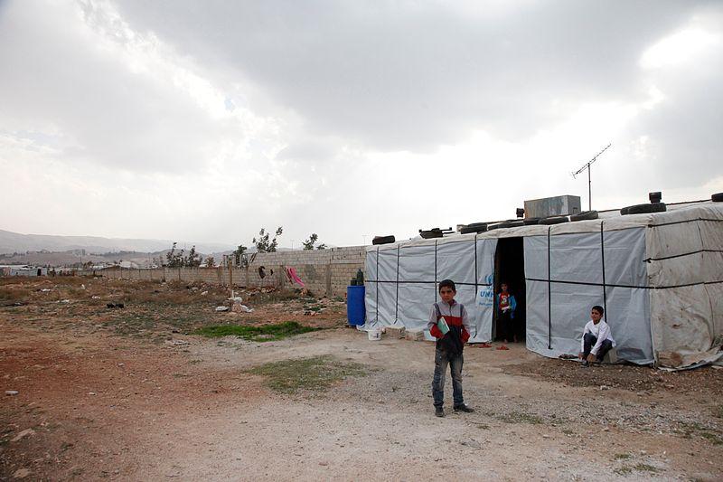 Tent schools prepared students for the coronavirus before shutting down