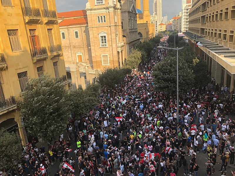 Lebanon protests resume as food shortage ravages the country