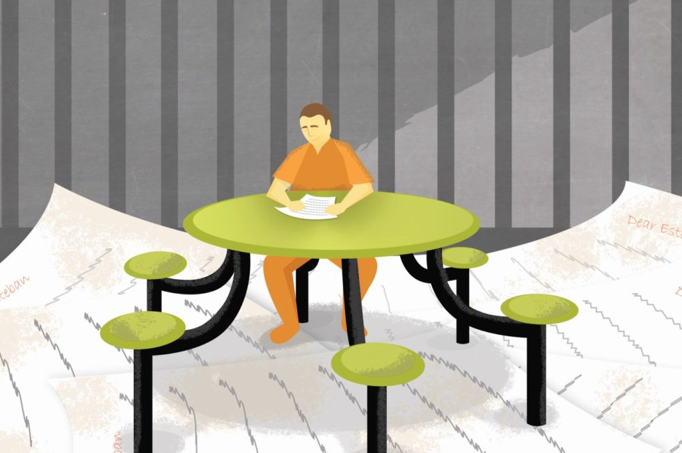 Volunteer from home as a Bible study penpal with prisoners