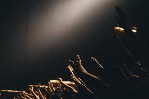 worship concert, hands, praise