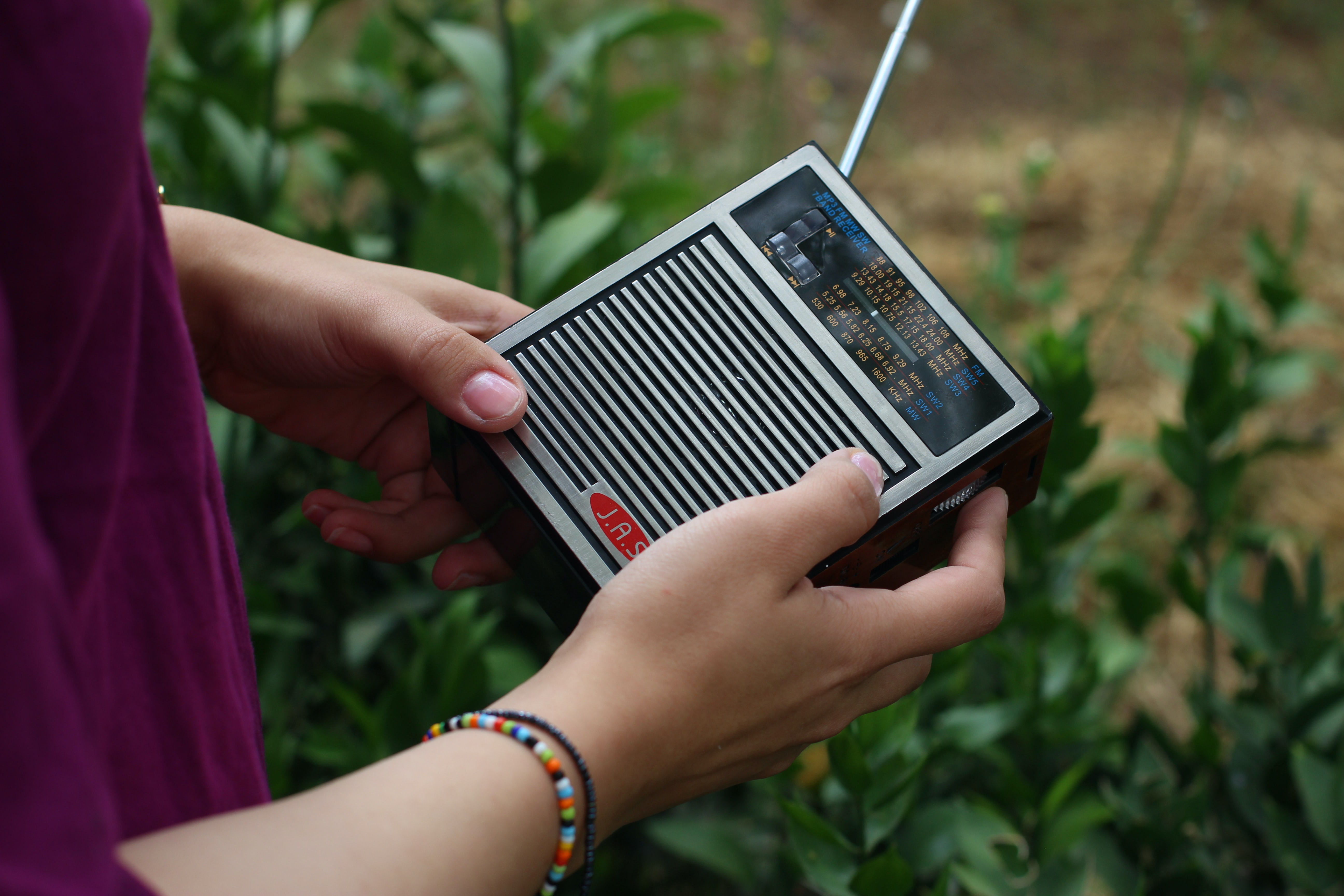 AMG's radio ministry provides a safe way for many to hear the Gospel