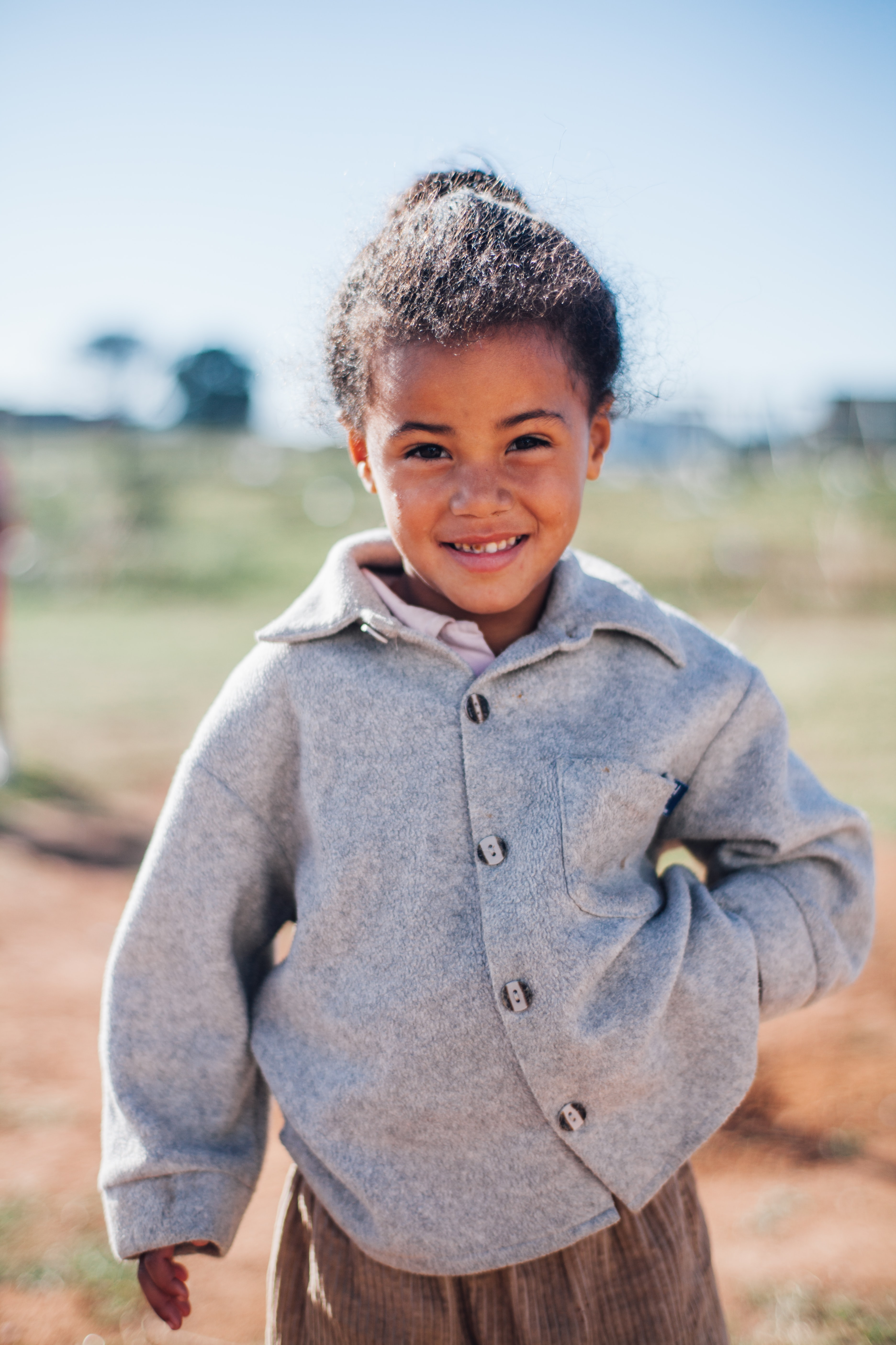 little African girl, unsplash