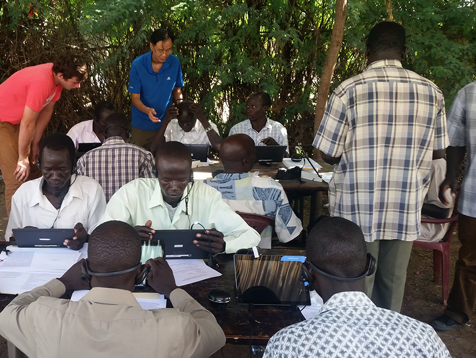 Wycliffe Associates provides oral translations of the Bible to cultures without written language