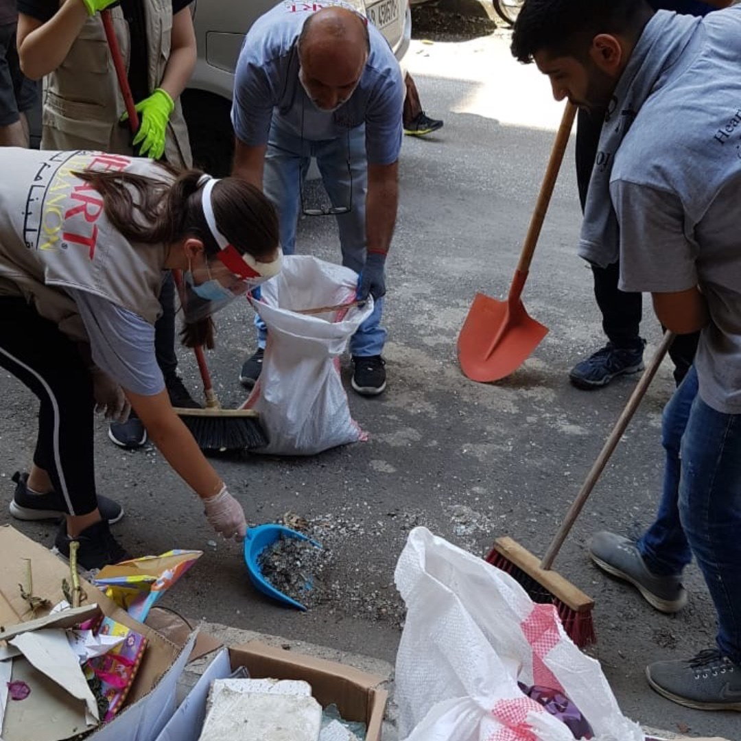 Heart For Lebanon Working with Local Churches to Rebuild Lebanese Communities After Beirut Explosion