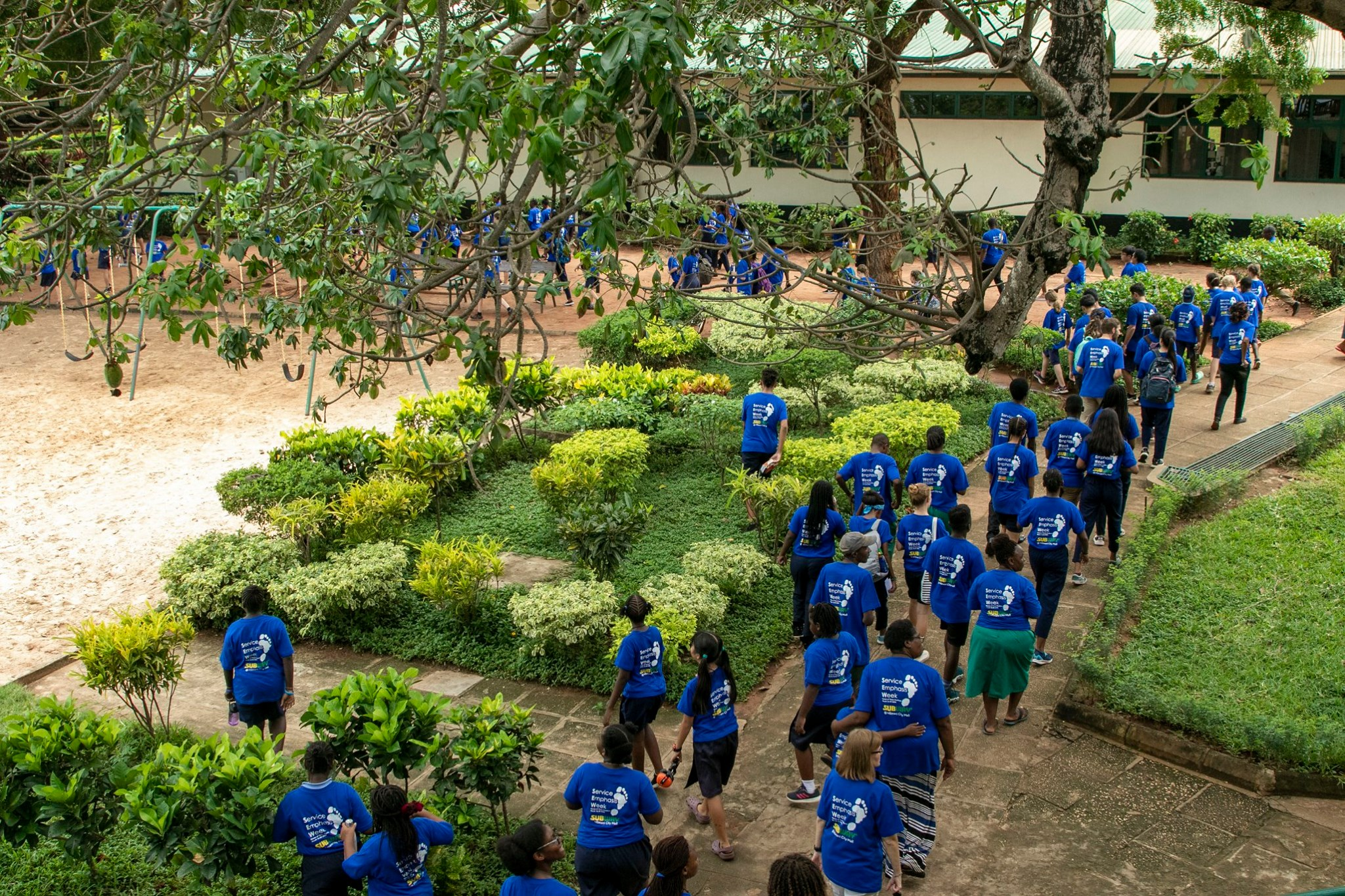 Christians help restart education worldwide