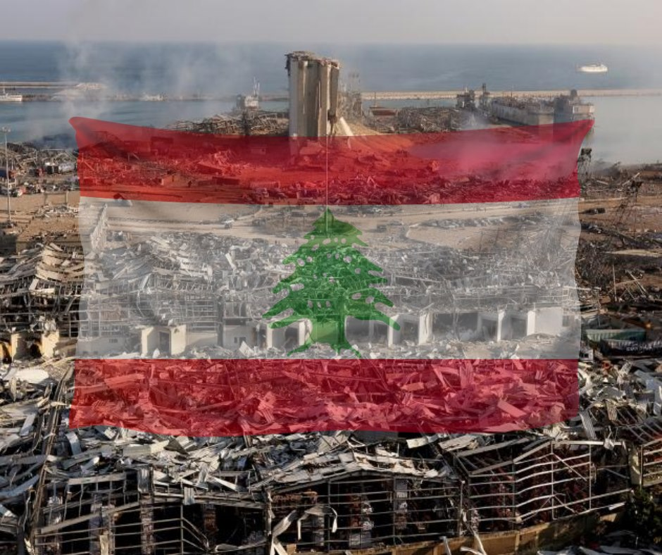 Lebanese start to rebuild without help from their government
