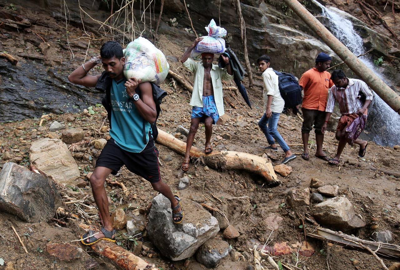 flooding, monsoon, 2020