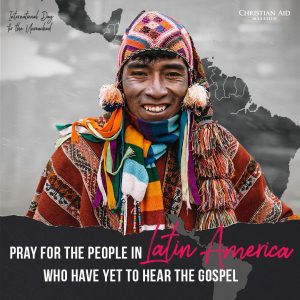 latin america, international day for the unreached