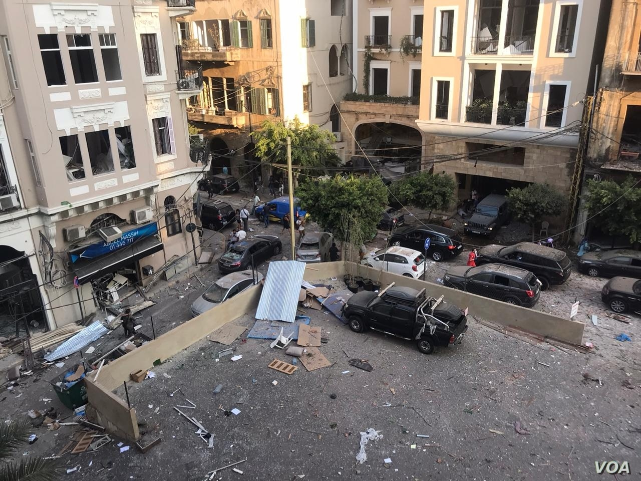 Beirut lies in ruins after massive explosion