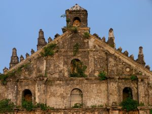 An old church in the Philippines; image by krystianwin from Pixabay.