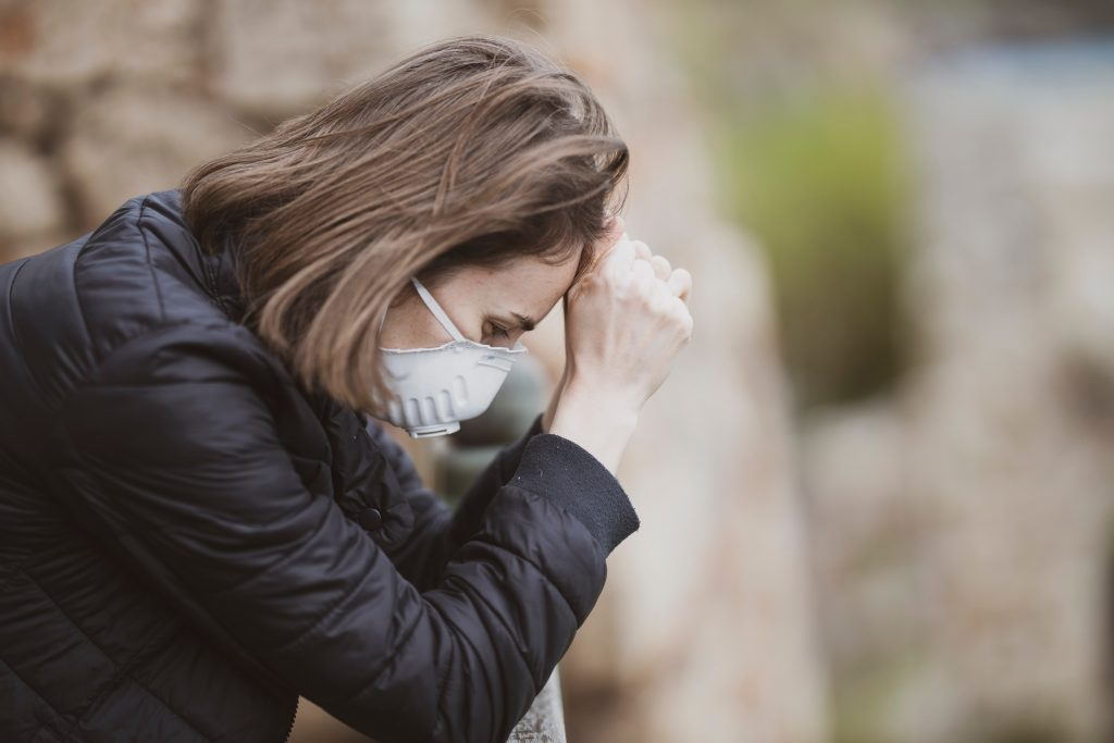 stress, pandemic, masks, covid, coronavirus
