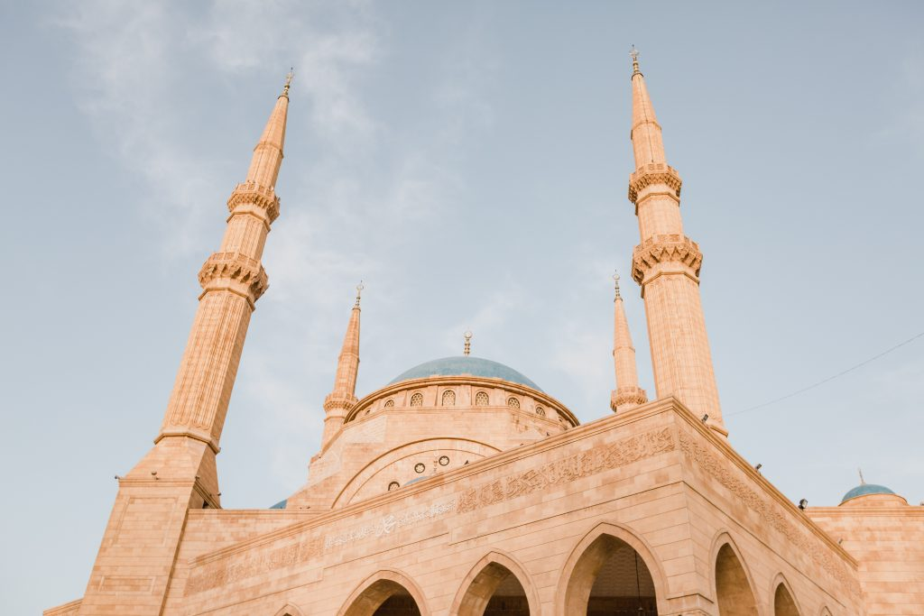mosque, lebanon, unsplash