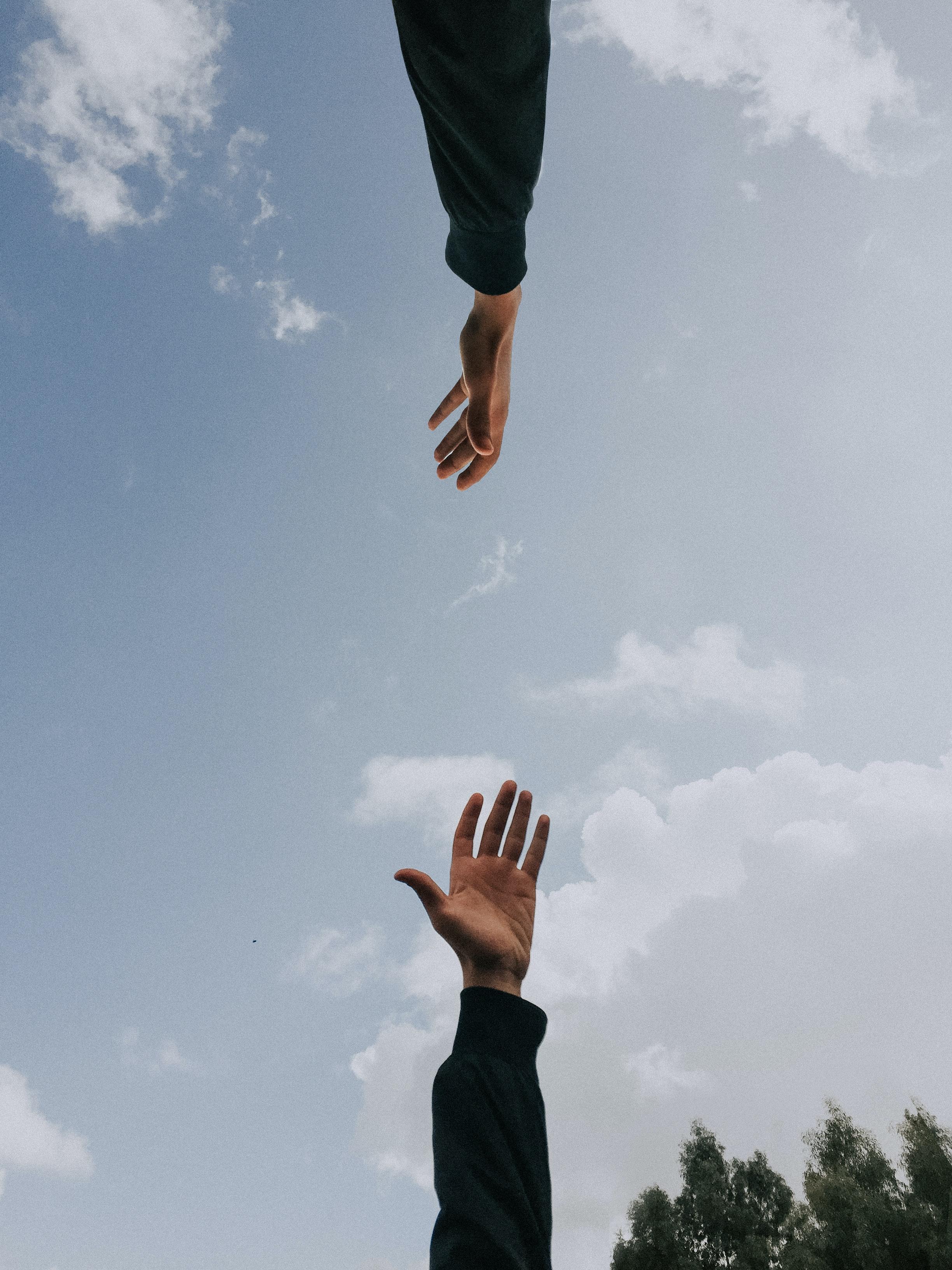 hands, help, unsplash