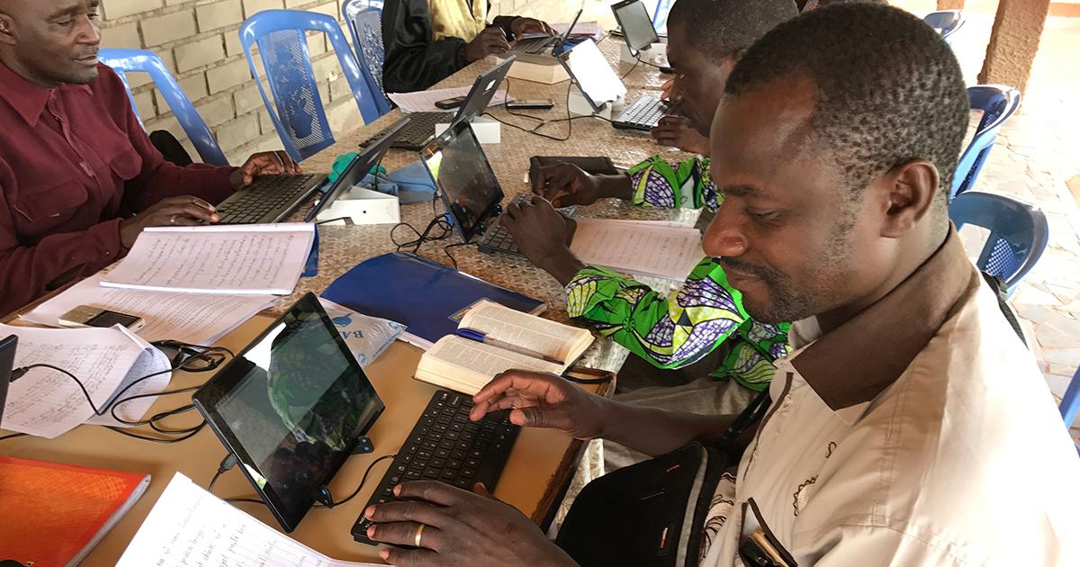 Bible translation efforts continue during lockdowns