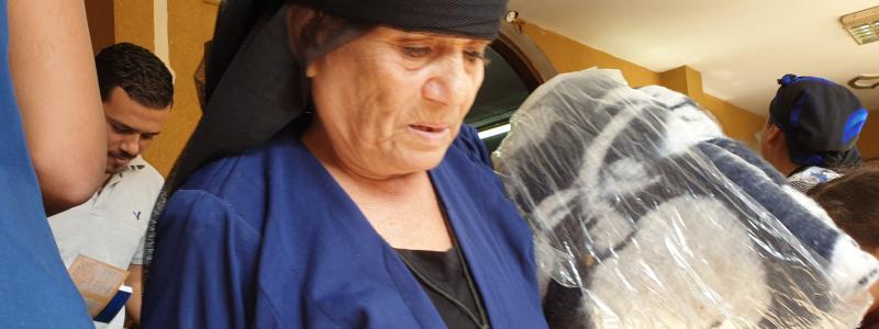 Christians Help Egyptian Widows During Coronavirus