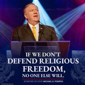 pompeo quote religious freedom