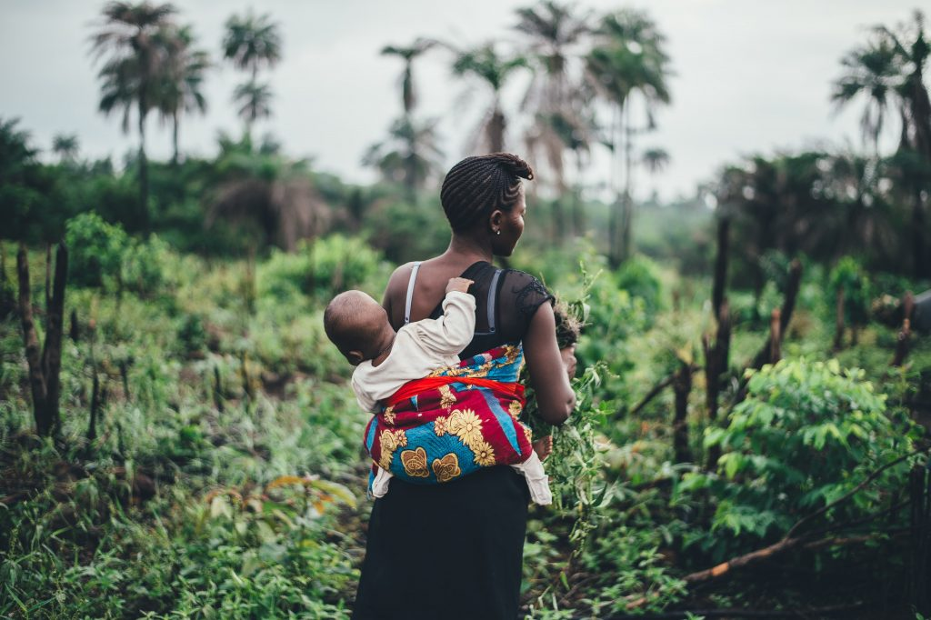woman and baby, unsplash