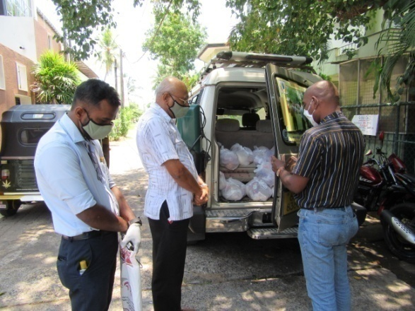 From bombing survivors to pandemic victims, FARMS Lanka providing relief