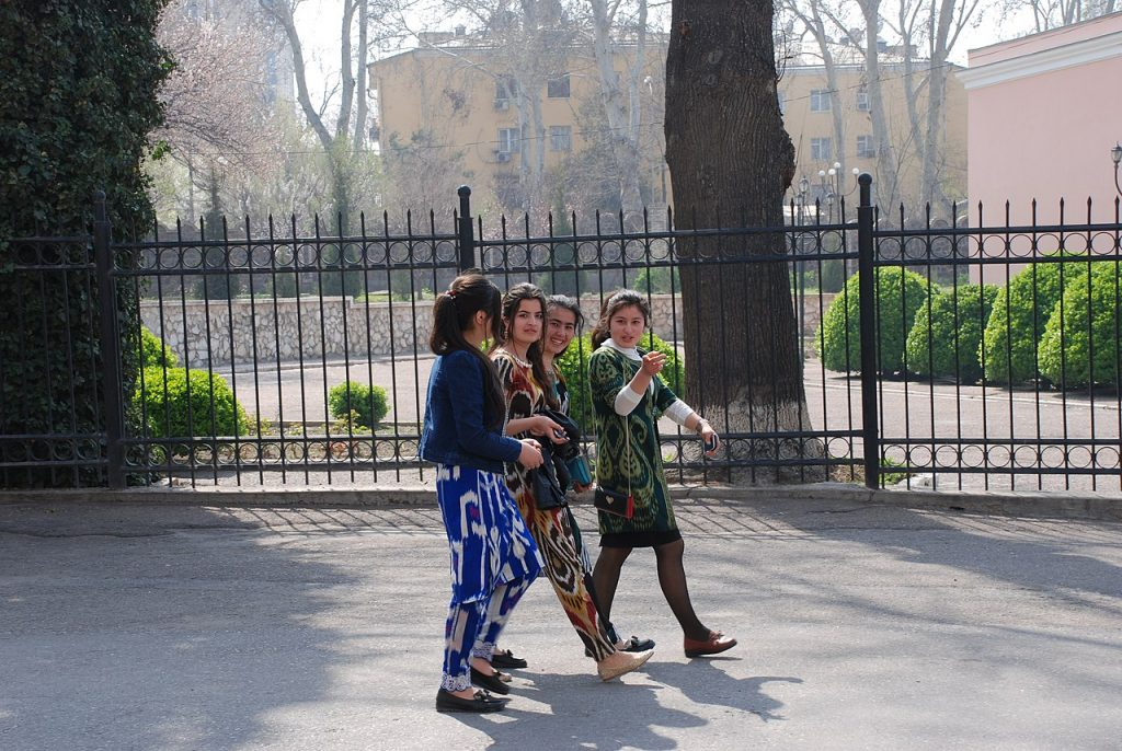 tajikistan, women, girls
