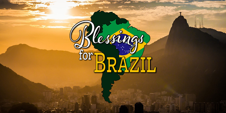 World Missionary Press Continues Blessings for Brazil Gospel Campaign