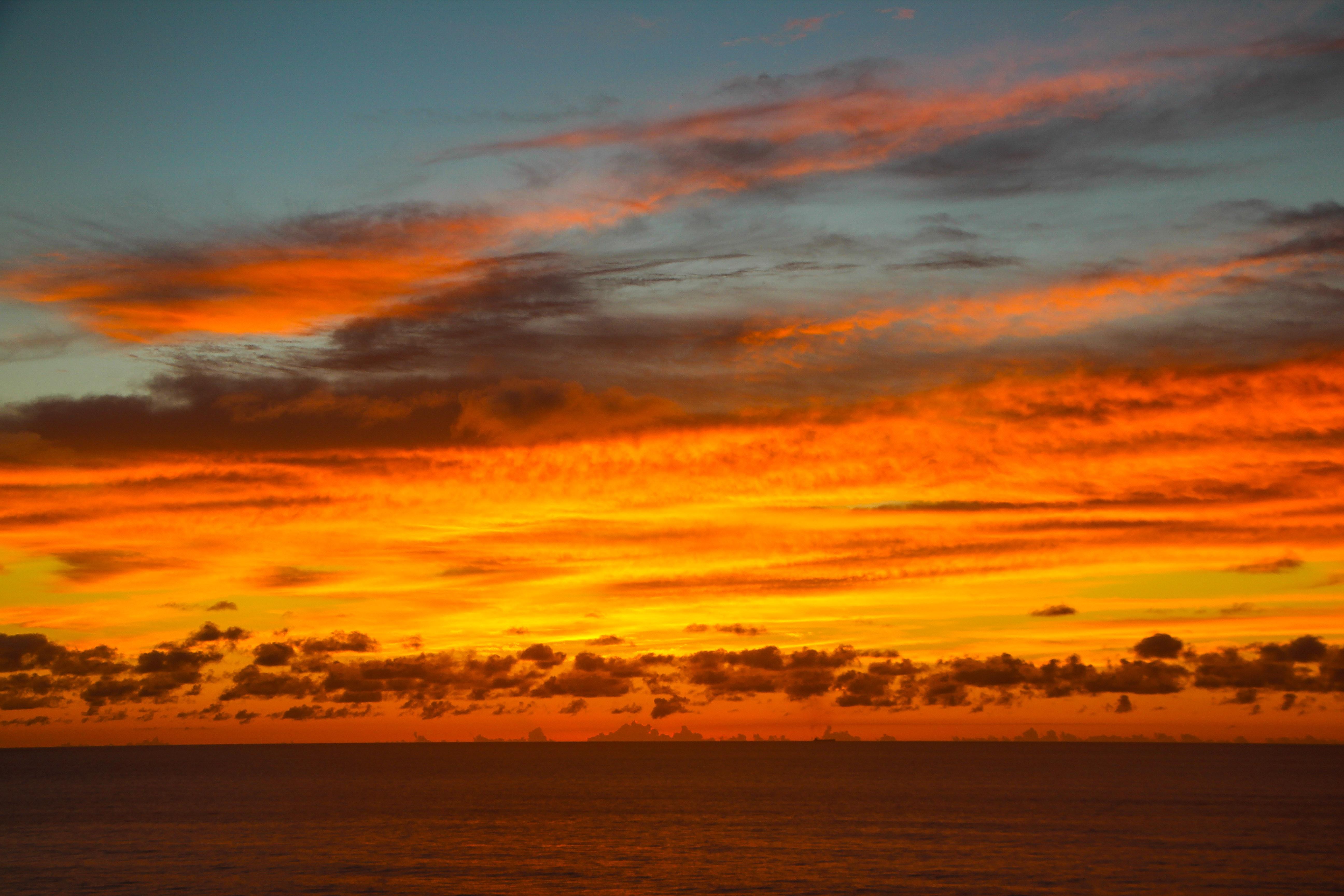 mozambique, sunset, unsplash