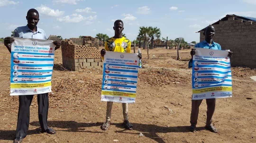 south sudan, covid19 prevention