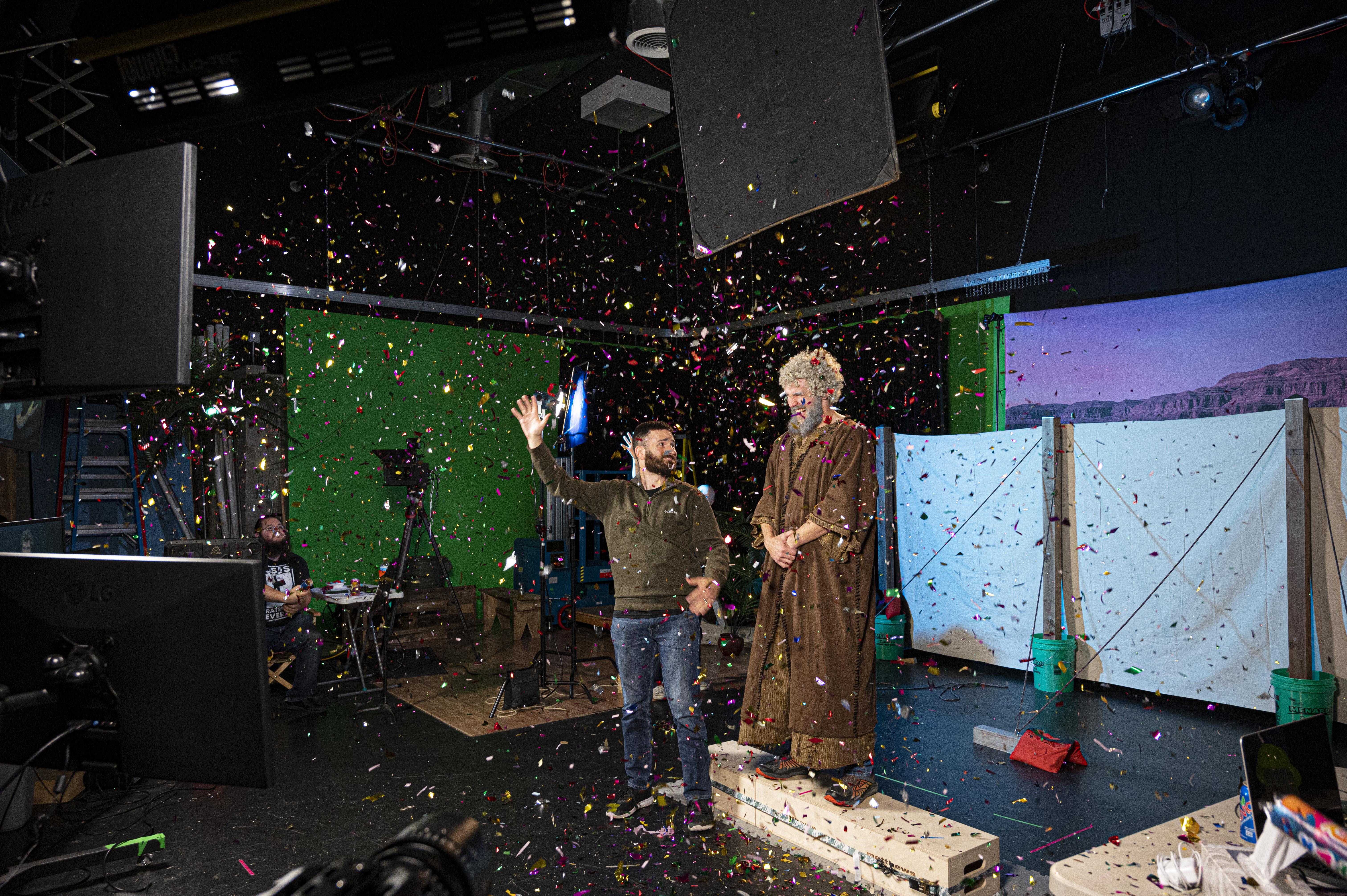 Deaf celebrating first-ever complete sign language Bible translation