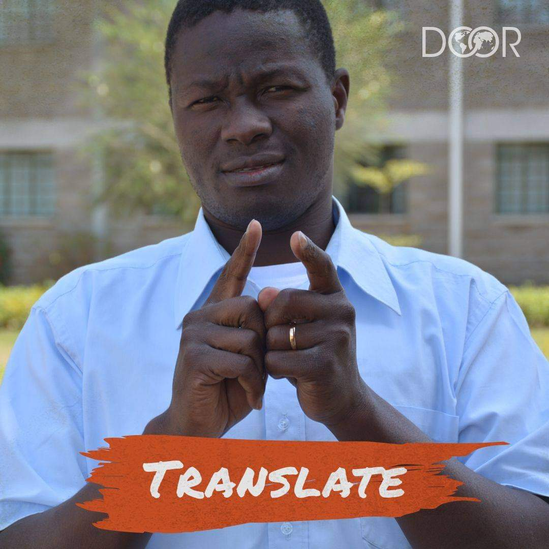 DOOR International Partners with Deaf Harbor to Accelerate Deaf Translation Training Process