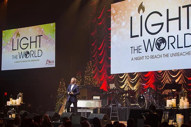 Christmas concert raises $1 million to get the Gospel to the unreached