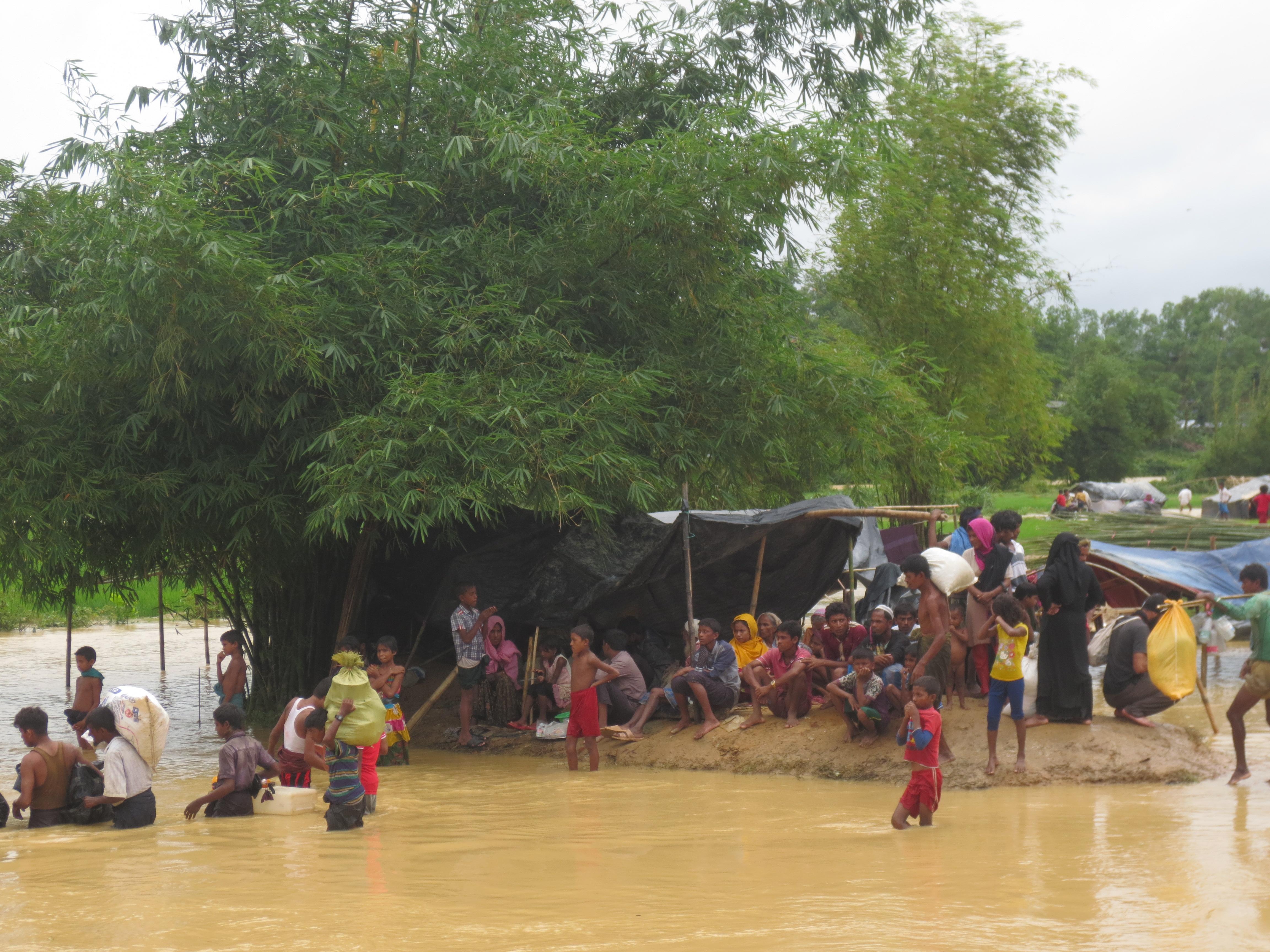 More Rohingya moved to the island of Bhasan Char