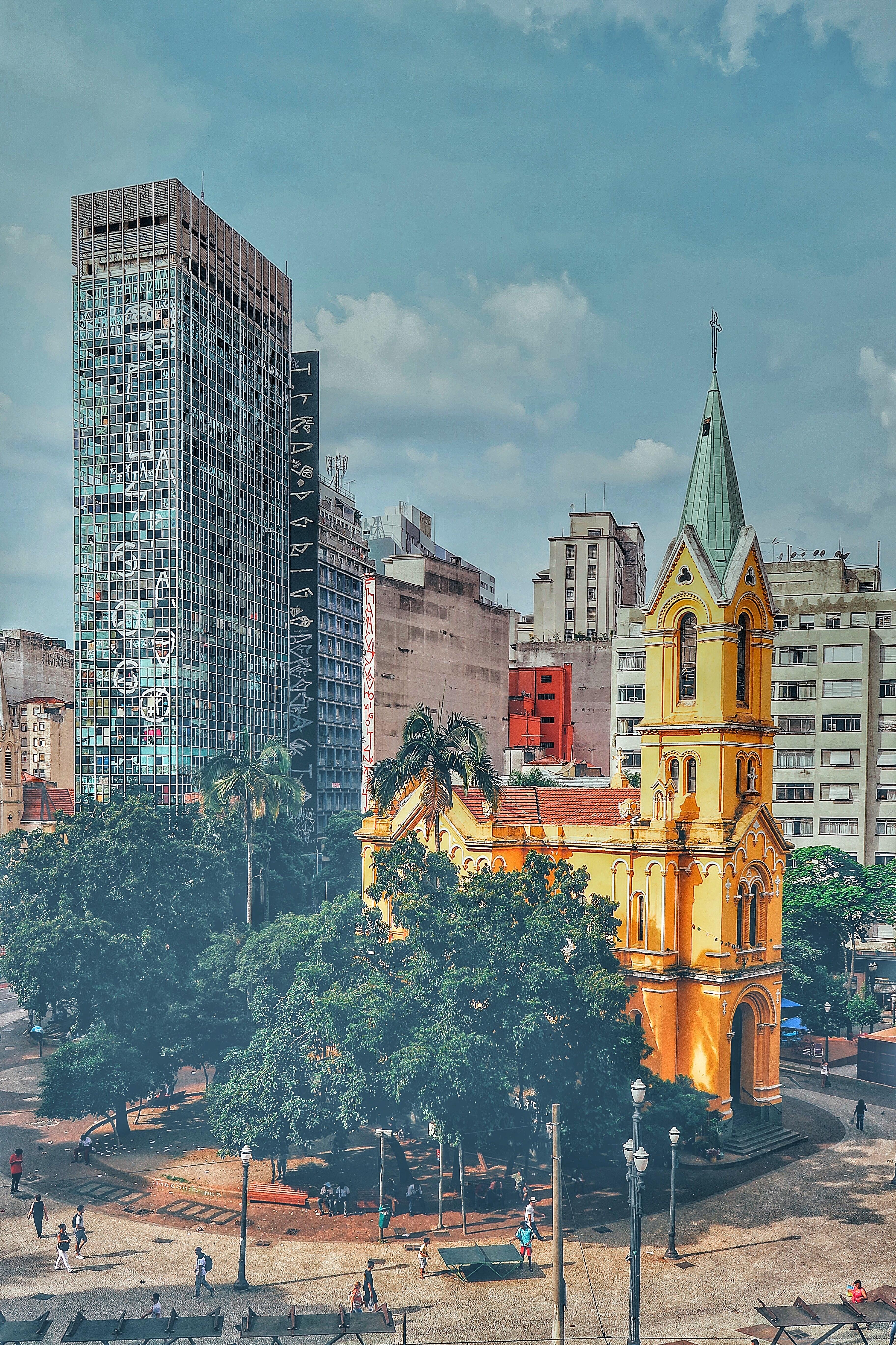 Largo do Paissandú, São Paulo, Brazil, World Missionary Press, Unsplash