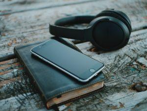 bible, phone