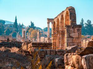 Ancient temple ruins in Lebanon. (Photo, caption courtesy of Boris Ulzibat/Pexels)