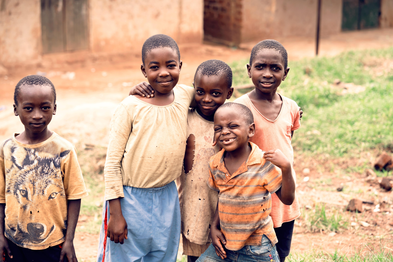 kids, uganda, unsplash
